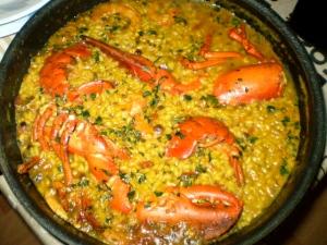 arroz bogavante