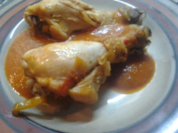 Pollo al chilindrón