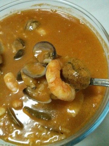 sopa marisco