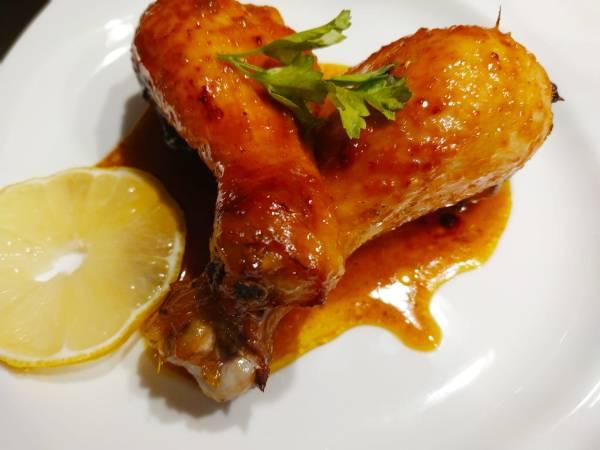 pollo curry miel